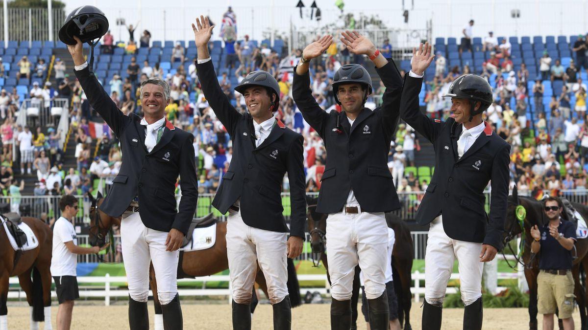 La France, championne olympique de concours complet par équipes à Rio