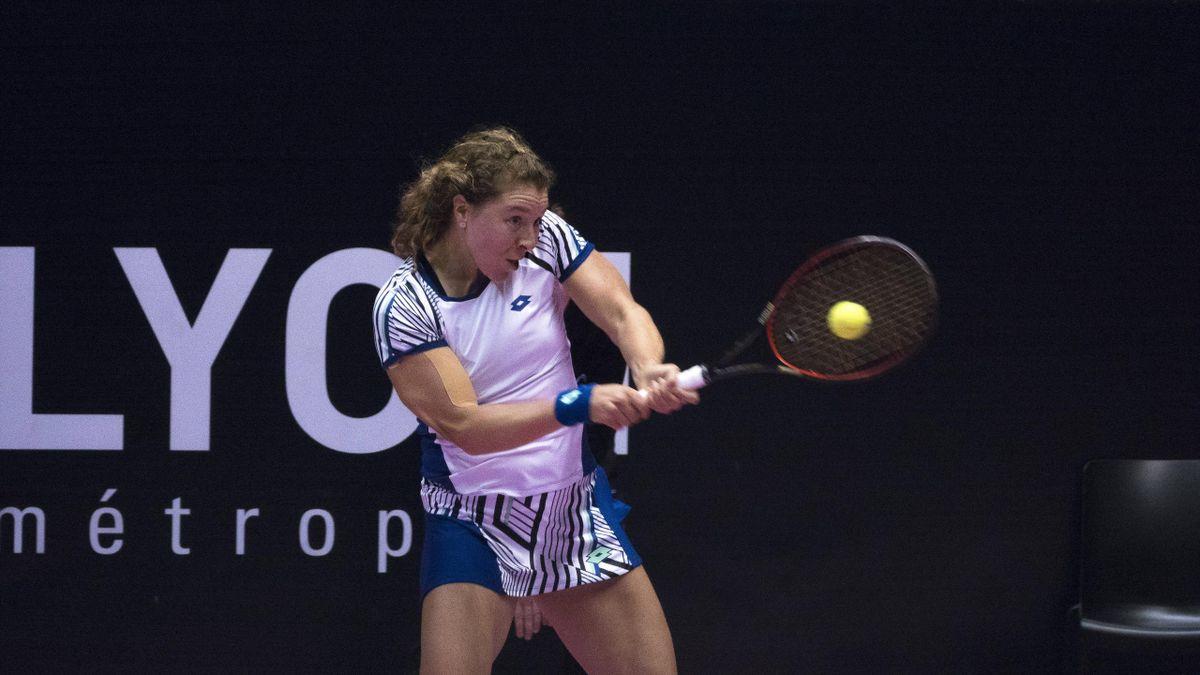Anna-Lena Friedsam verliert das Finale von Lyon