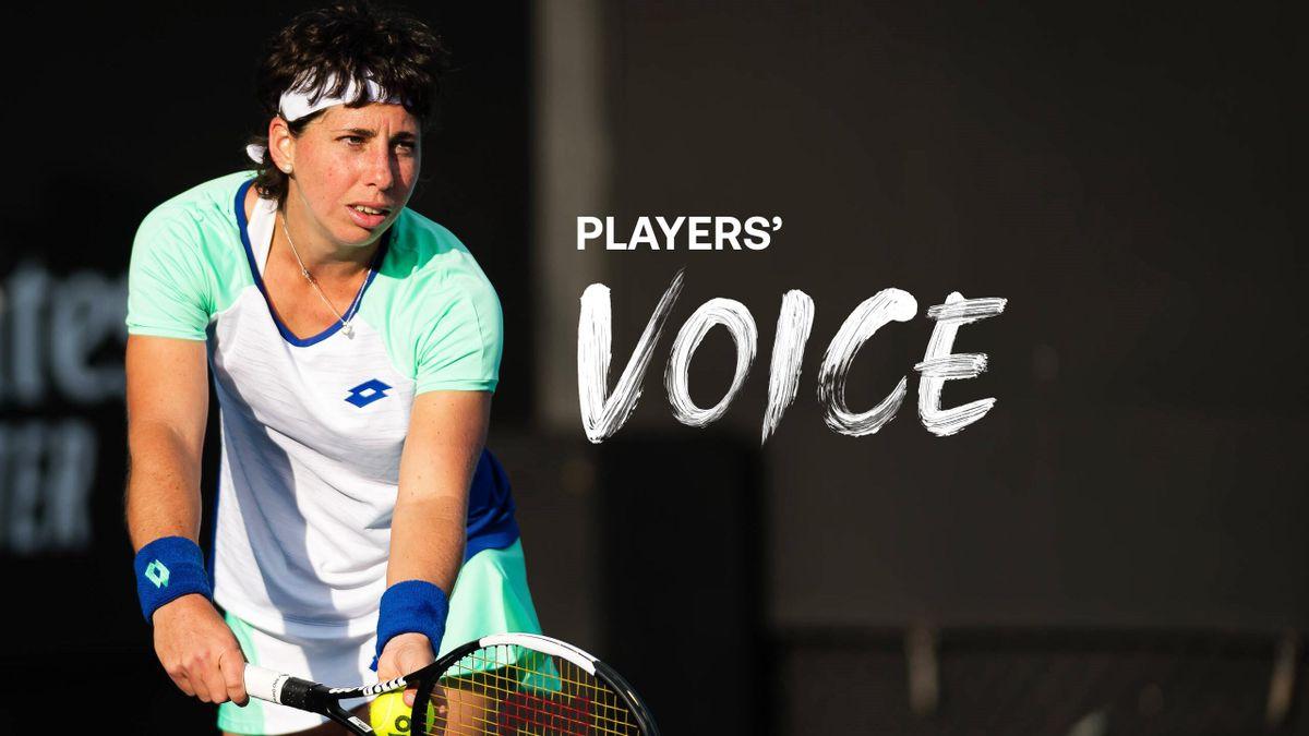 Players' Voice mit Carla Suárez Navarro