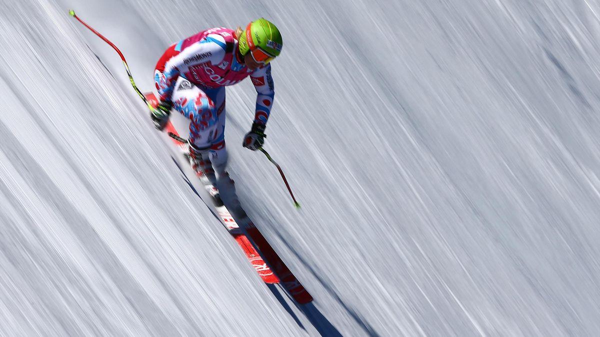Marion Rolland de retour à la compétition à Lake Louise