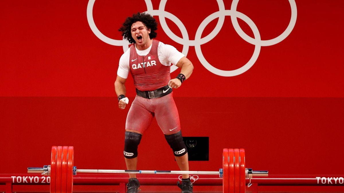 Fares El-Bakh stemmt das erste katarische Olympia-Gold