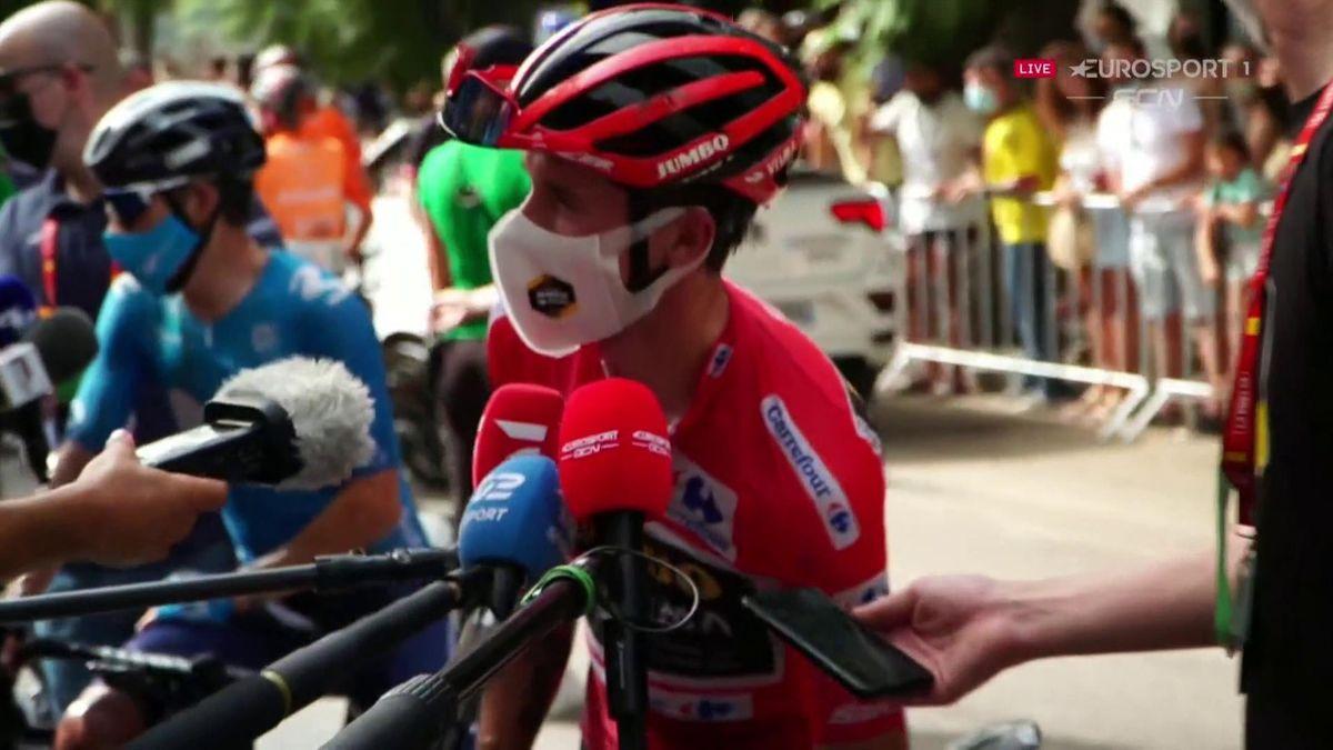 'No risk, no glory!' – Roglic on Stage 10 crash