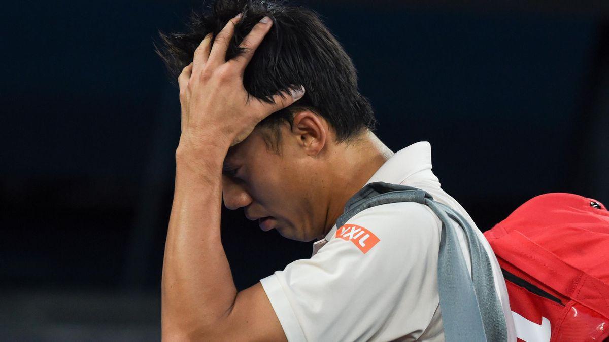 Kei Nishikori at the 2019 Australian Open