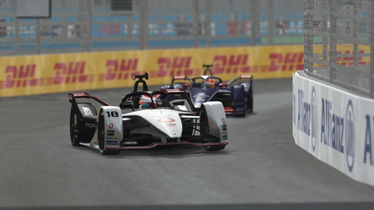 The Saturday Formula E race in New York City