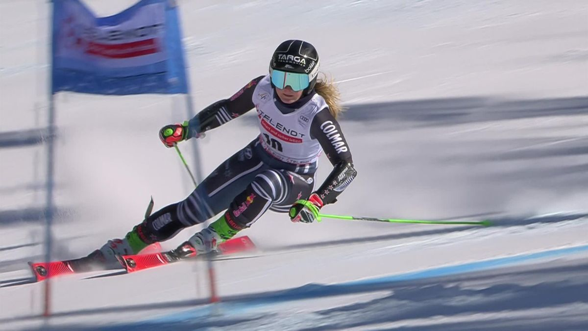 'She is on fire!' - Robinson denies Shiffrin in final GS of season