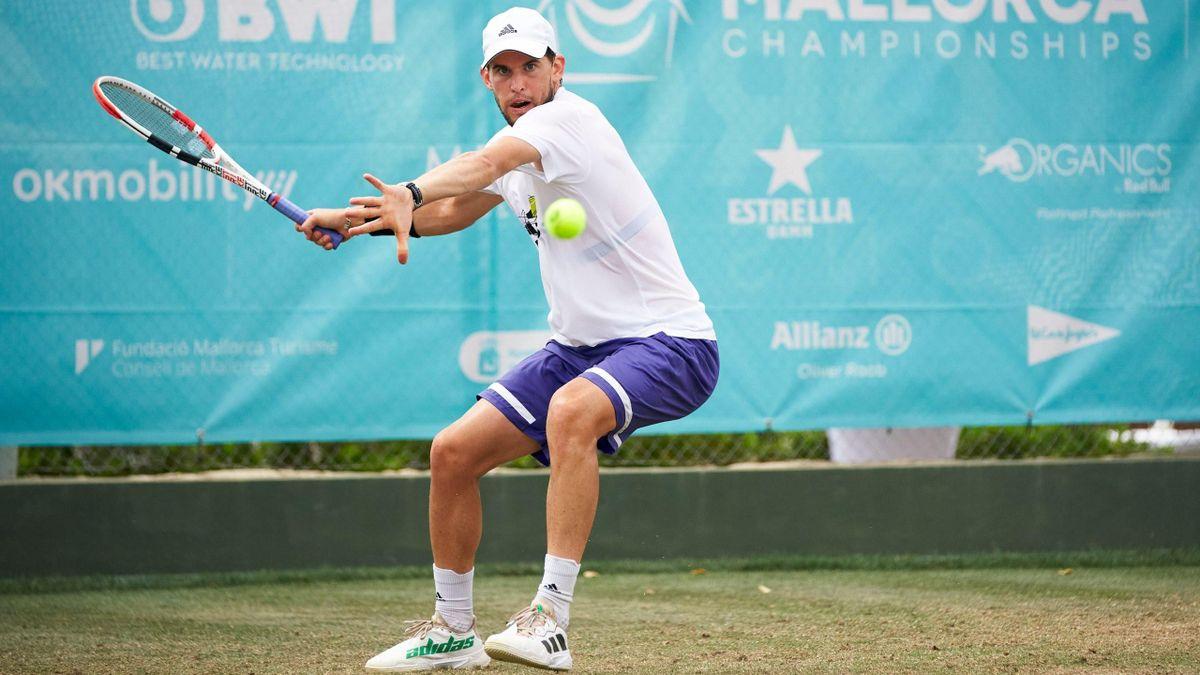 Dominic Thiem / Tournoi de Majorque 2021
