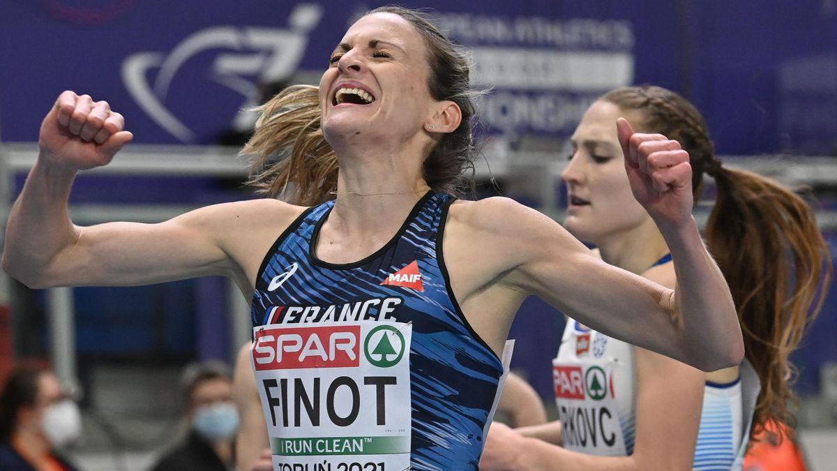 Alice Finot en argent sur le 3000 m lors des championnats d'Europe