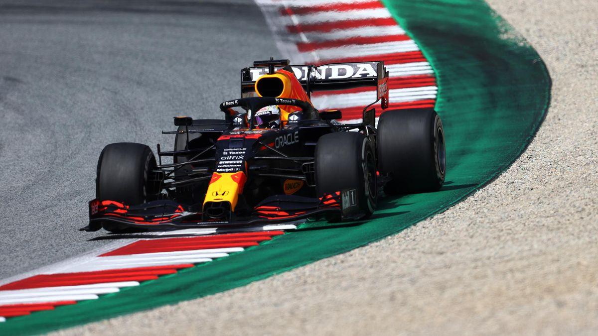 Max Verstappen (Red Bull) fuhr beim Großen Preis der Steiermark allen davon