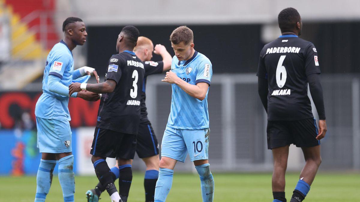 SC Paderborn gegen VfL Bochum
