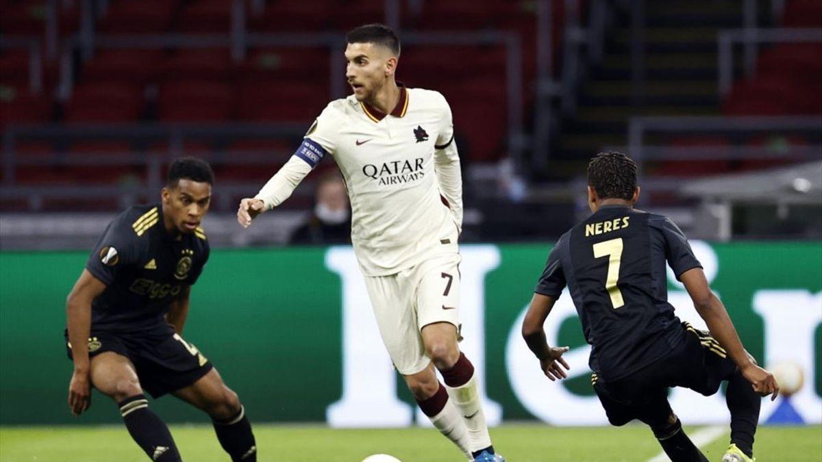 Lorenzo Pellegrini - Ajax-Roma Europa League 2020-21