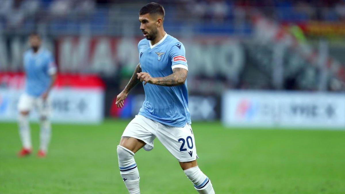 Mattia Zaccagni con la maglia della Lazio - Stagione 2021-22