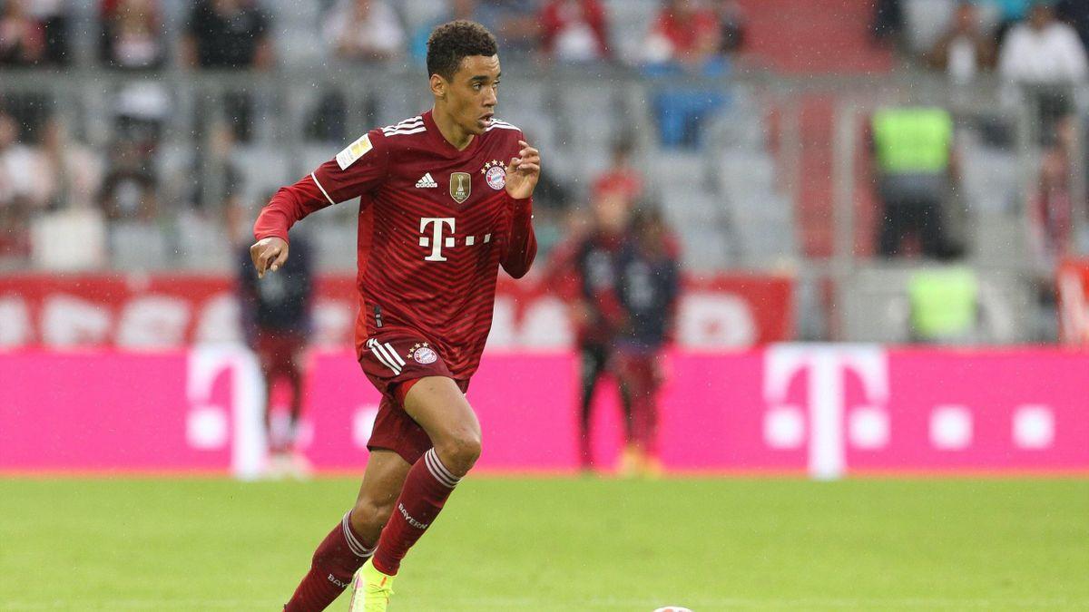 Jamal Musiala vom FC Bayern München