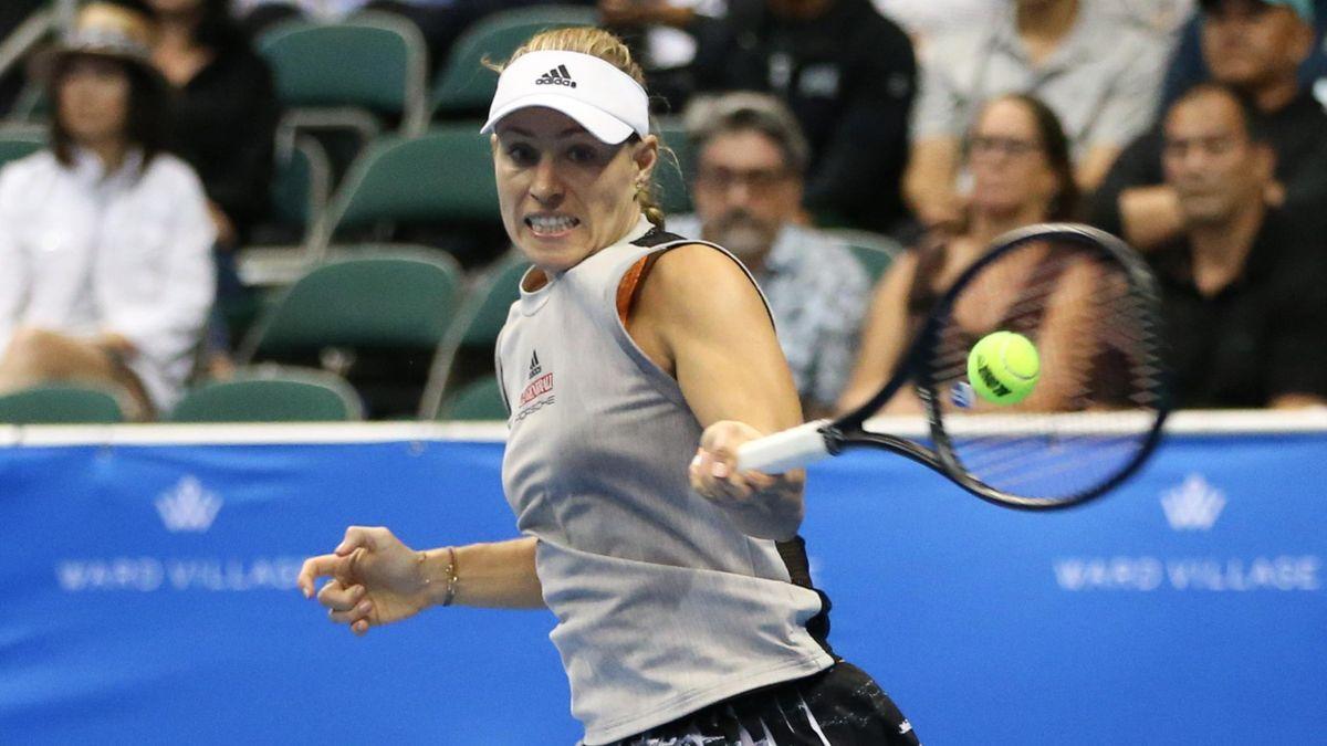 Angelique Kerber bei den Hawaii Open