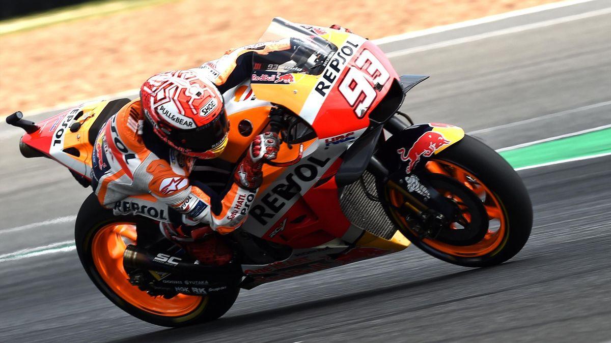 Marc Marquez (Honda HRC), vainqueur du Grand Prix de Thaïlande 2018