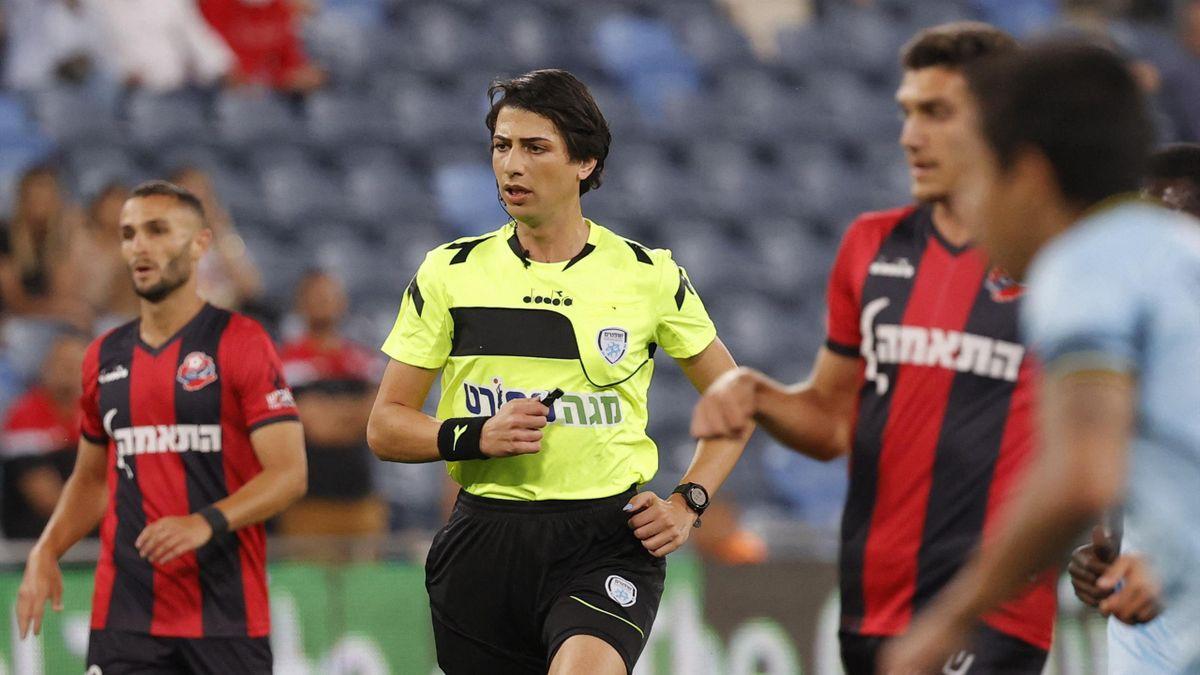 Sapir Berman bei ihrem Einsatz im Spiel zwischen Hapoel Haifa und Beitar Jerusalem