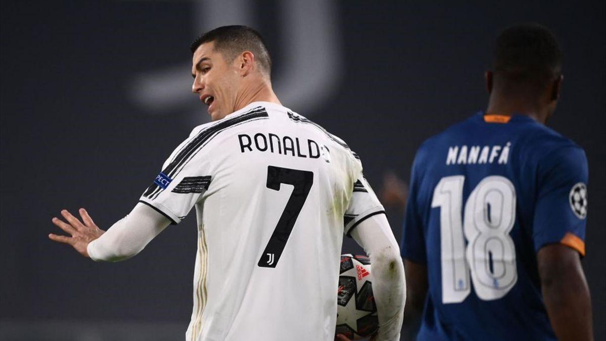 Cristiano Ronaldo durante Juventus-Porto - Champions League 2020/2021 - Getty Images