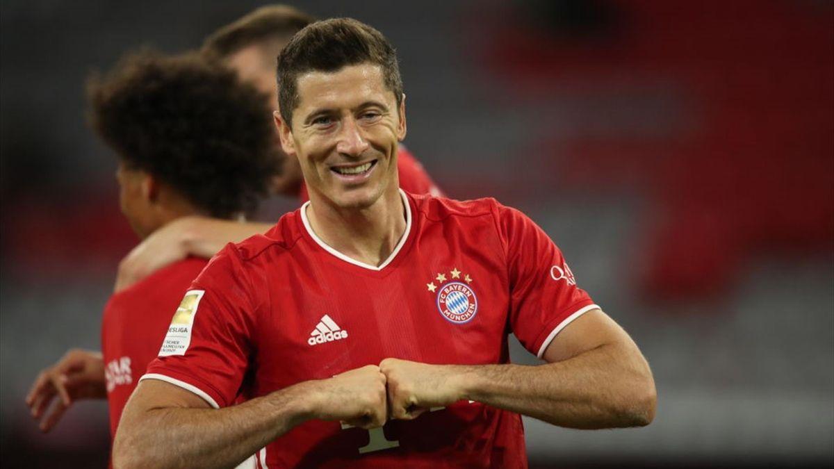 Robert Lewandowski ist für das UEFA-Supercup-Duell mit dem FC Sevilla spielbereit