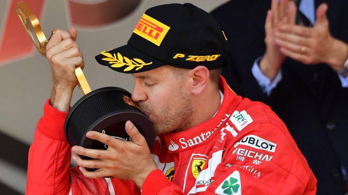 2017, Sebastian Vettel, Ferrari, Montecarlo, Getty Images