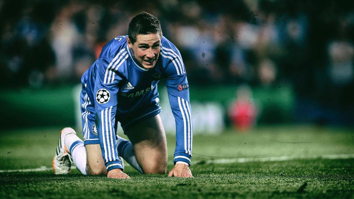 Fernando Torres im Trikot des FC Chelsea