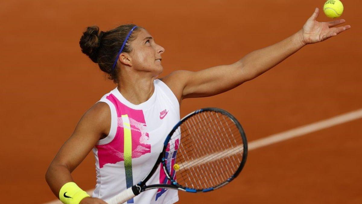 Roland-Garros : Errani's worst service game against Bertens