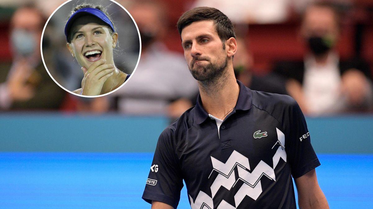 Eugenie Bouchard & Novak Djokovic
