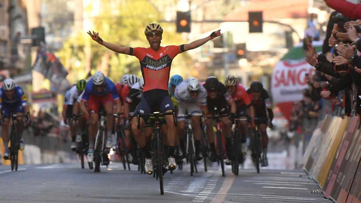 Vincenzo Nibali, vainqueur de Milan-SanRemo.