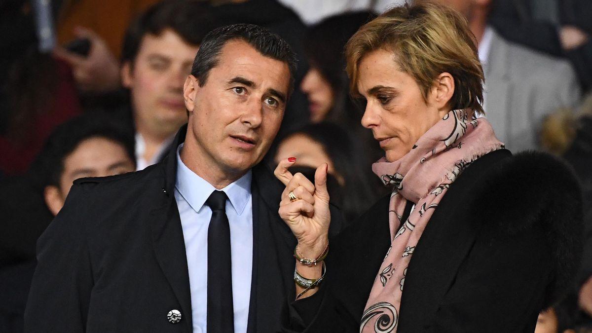 Marc Keller aux côtés de Florence Hardouin, la directrice générale de la FFF.