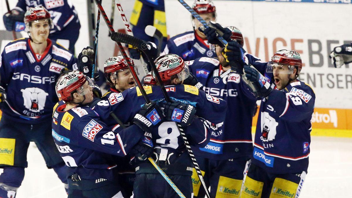 Die Eisbären Berlin führen in der Serie nun mit 3:2