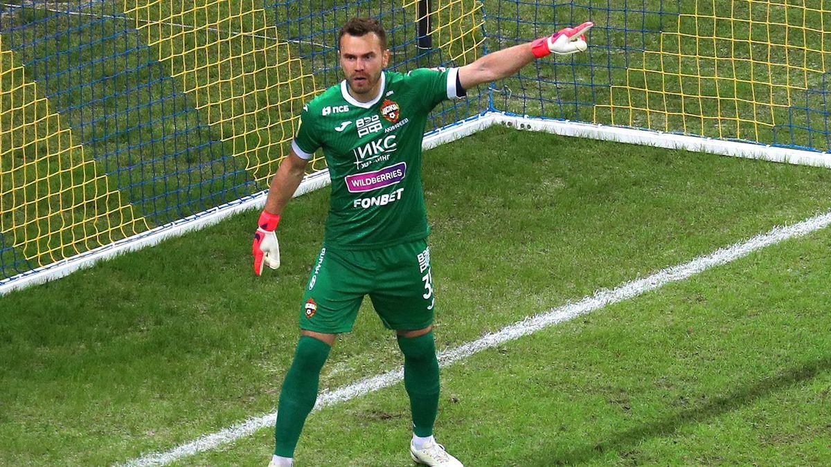 Игорь Акинфеев, ЦСКА – «Ростов»