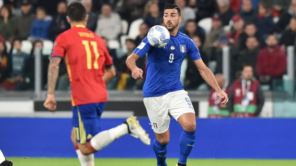 Graziano Pellè (Italia-Spania, EURO 2016)