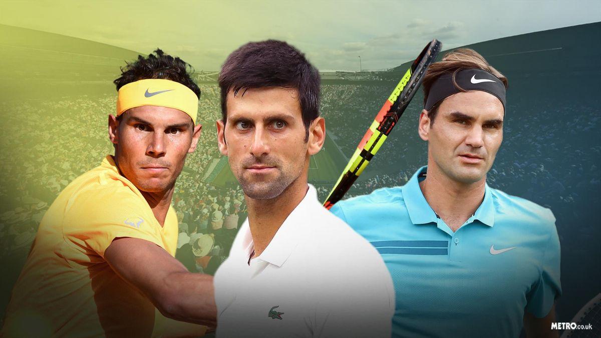 Federer, Nadal & Djokovic