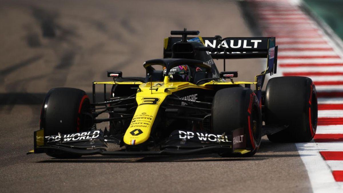 Daniel Ricciardo (Renault) au Grand Prix de Russie 2020