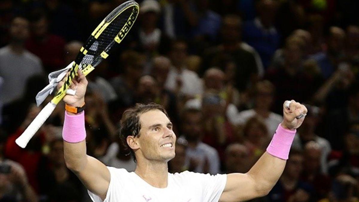 Paris Masters : Wawrinka v Nadal - highlights