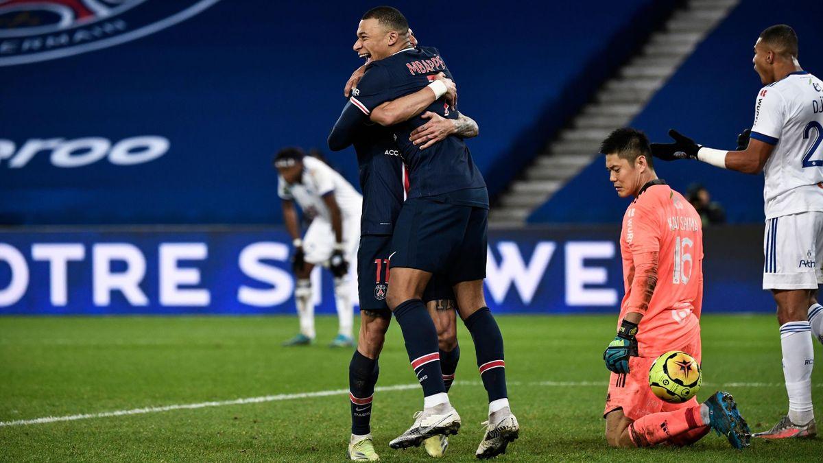 Mbappé - Di Maria - PSG