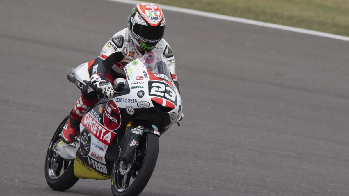 Niccolò Antonelli impegnato nel GP d'Argentina - 2019