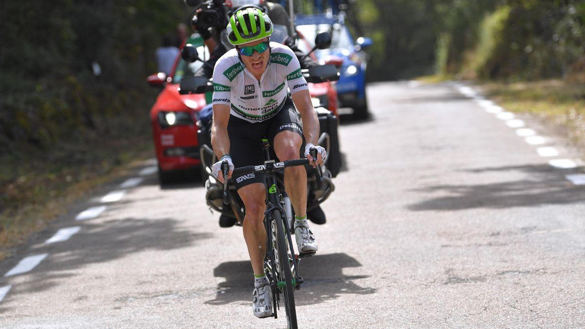 Benjamin King, 9ª etapa, La Vuelta 2018