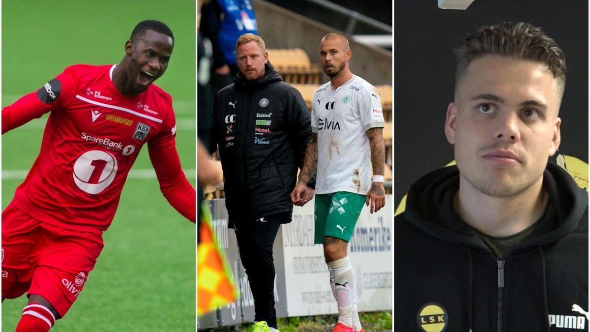 Serigne Mor Mbaye, Espen Olsen, Tobias Svendsen