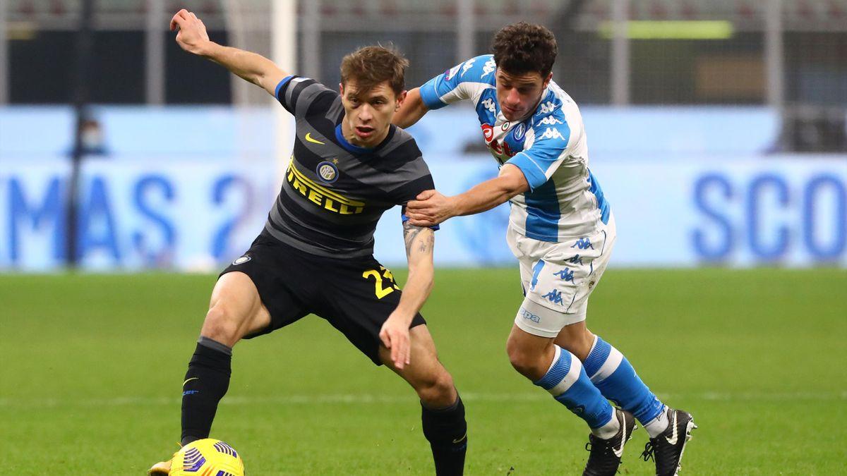 Nicolò Barella, Diego Demme, Inter-Napoli, Getty Images