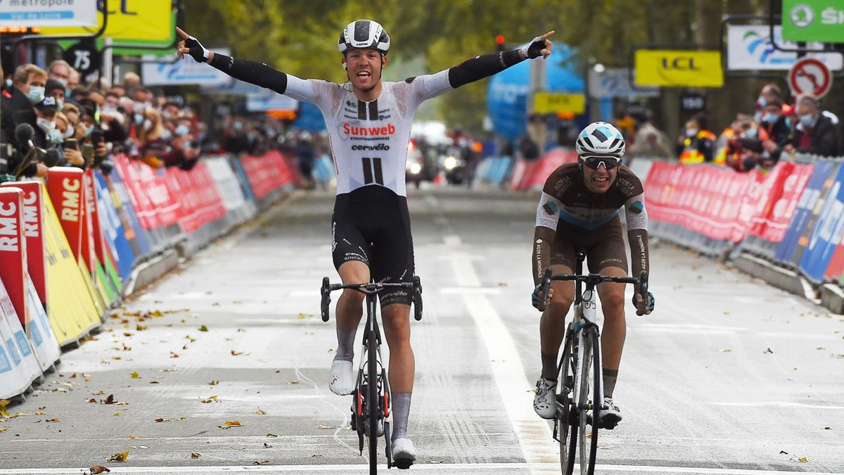 Le Paris-Tours 2020 remporté par Casper Pedersen.