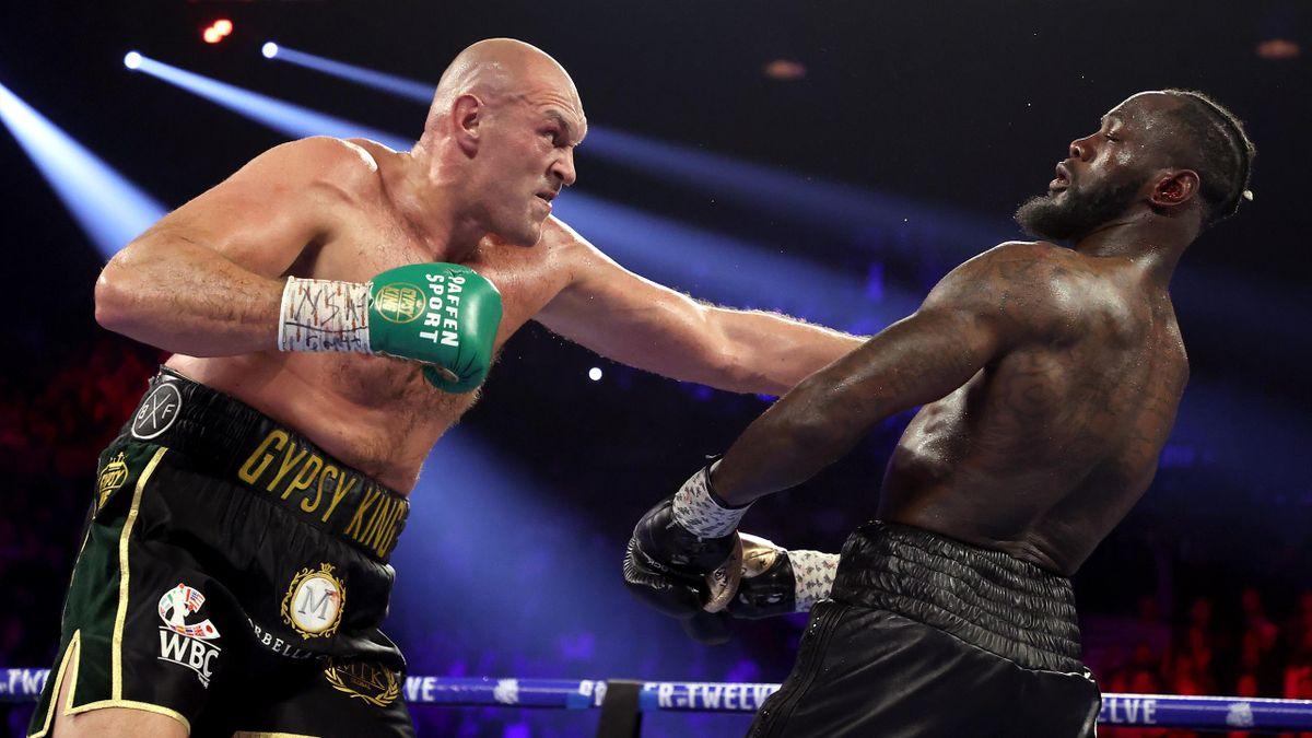 Tyson Fury beat Deontay Wilder back in February