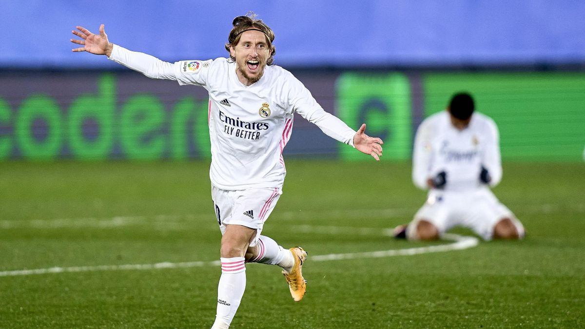 Luka Modric hat seinen Vertrag bei Real Madrid bis 2022 verlängert