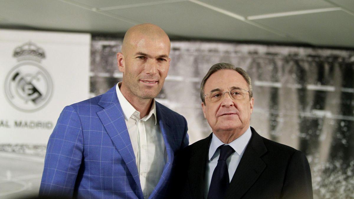 Zinedine Zidane Es El Nuevo Entrenador Del Real Madrid Se Acabó La Era Rafa Benítez Eurosport