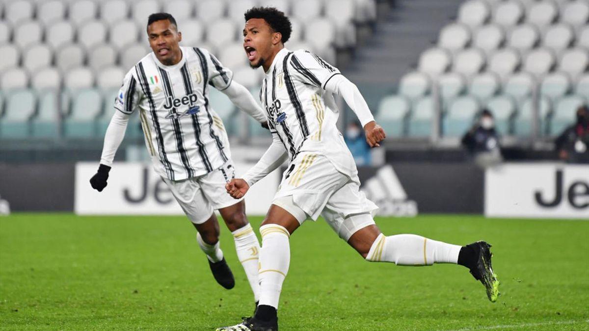 Weston McKennie - Juventus-Torino - Serie A 2020-2021