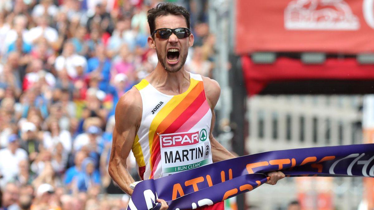 Álvaro Martín, campeón de Europa