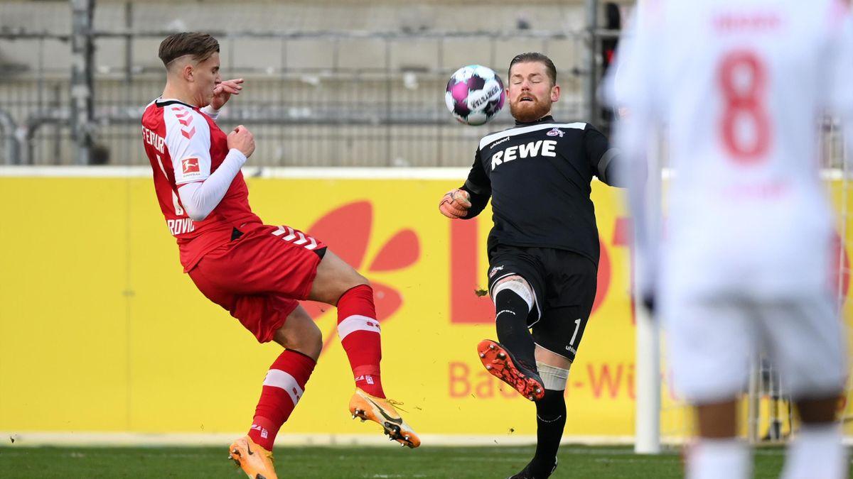 SC Freiburg gegen 1. FC Köln