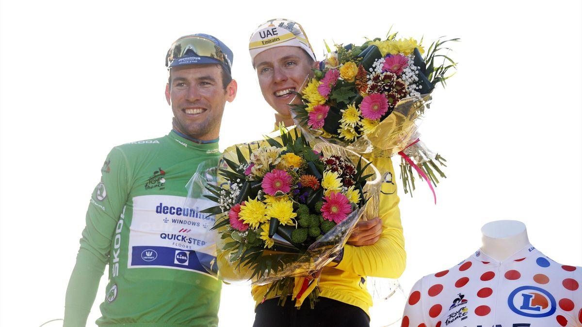 Mark Cavendish und Tadej Pogacar - Tour de France 2021