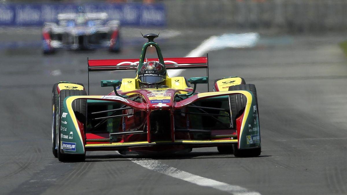 Daniel Abt en la clasificación Fórmula E