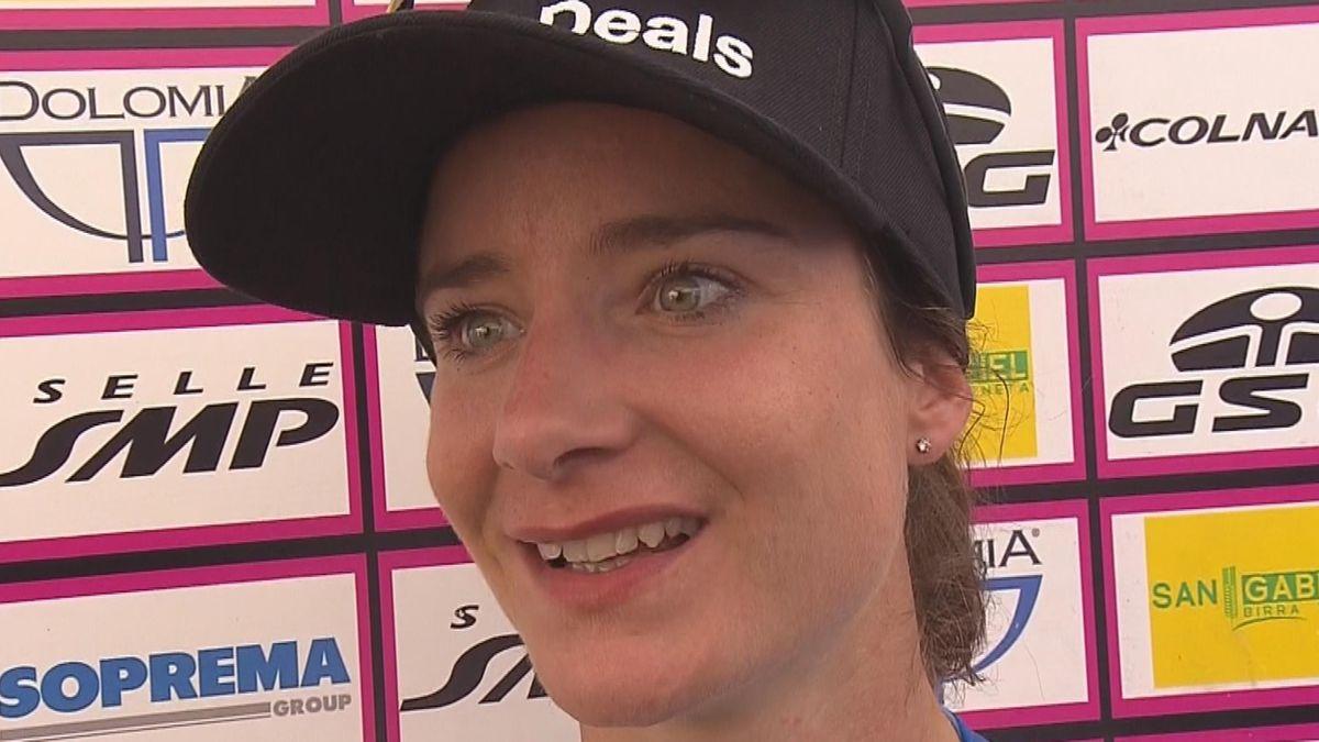 Giro Rosa - Stage 8 - Interview Marianne Vos