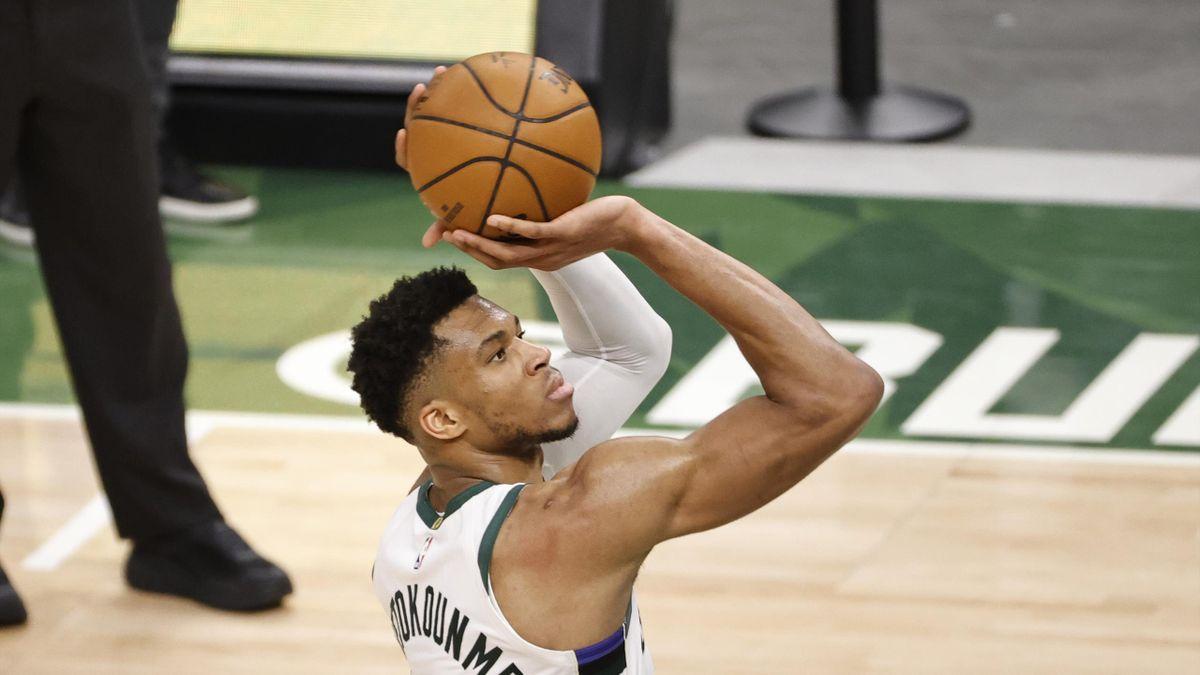 2021 NBA Playoffs, Miami Heat v Milwaukee Bucks: Giannis Antetokounmpo