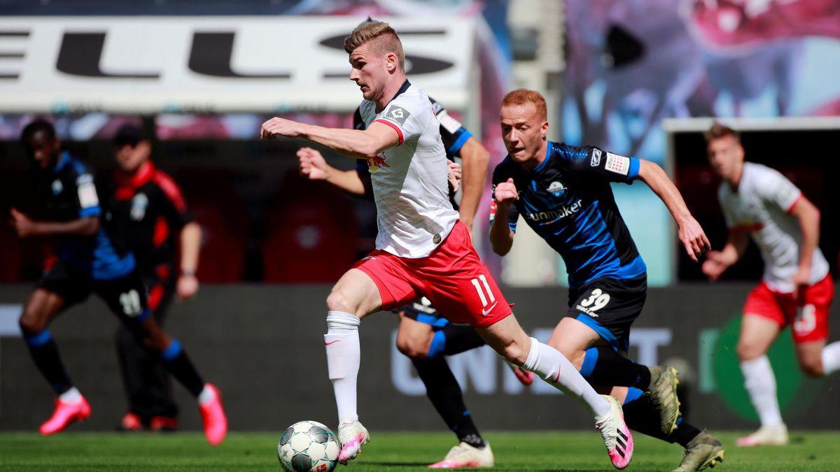 Timo Werner | RB Leipzig - SC Paderborn